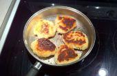Einfach Bannock Brot um wecken Erinnerungen