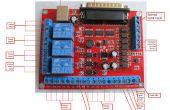 6 Achsen CNC MACH3 Gravur Maschine Schnittstelle Breakout Board USB PWM Spindel mit ASKPOWER A131 Serie