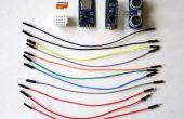 Arduino Nano: Abstand mit Ultraschall-Ranger und zu protokollieren, MicroSD-Karte mit Visuino
