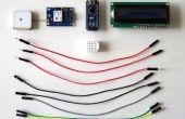 Arduino Nano: Zeigen GPS-Position auf I2C 2 X 16 LCD-Display mit Visuino