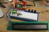 Fahren ein HD44780 Display mit einem Schieberegister und Raspberry Pi