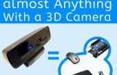 Wie Sie fast alles mit einer 3D-Kamera (einschließlich Ihrer Arduino) Steuern