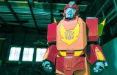 """Wie erstelle ich ein Transformers """"Hot Rod / Rodimus Prime"""" Kostüm"""