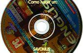 Savonius machen aus alten CDs DVDs