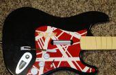 Malen Ihre Rockband Gitarre