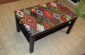 Bier Kappen Tischplatte