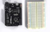 Machen einen hypnotischen Datenträger mit einem Arduino und kleine DC motor.