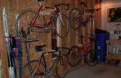 Ausziehbare Fahrradständer