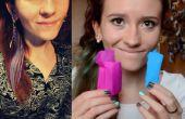 Gewusst wie: färben Sie Ihre Haare mit Krepp-Papier