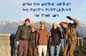 DIY Foto-Postkarten von unterwegs