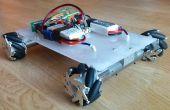 Mecanum-Rad Roboter - Bluetooth gesteuert