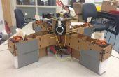 Autonome, Pappe, Rasberry Pi gesteuert QuadCopter