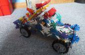 Knex Schlacht Auto: Rakete LKW
