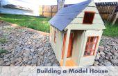 Wie baut man eine Skala Modellhaus