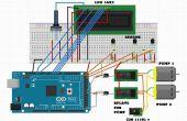Solar-Warmwasser-Controller mit Arduino Mega und ds18b20 temp Sensor
