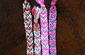 Einfach geflochten Valentine Tag Armband-ein herzliches Weg, Armbänder mit einer Schnur um