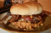 Ultimative Bacon Burger (Bio-Stil)