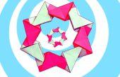 Einfache modulare Origami Kranz (8 Einheiten)