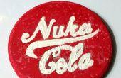 Wie erstelle ich eine glühende Nuka Cola-Coaster