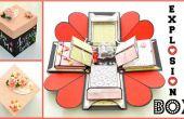 Wie erstelle ich eine Explosion Box - DIY Paper Crafts - explodierende Hochzeitsgeschenk