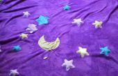 Langsam schnell funkelnden Sternen Decke (mit leitfähigen Patches)