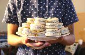 Schwarzer Sesam Macarons | Josh Pan