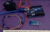 Arduino, MIT app Inventor Servo motor Controller
