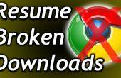 Gewusst wie: gebrochen, unterbrochene oder Zeitüberschreitung Downloads fortsetzen