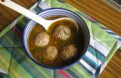 Huhn (Frikadellen) Kofta Curry (Soße Version)