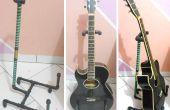 Suporte Para Violão - Cano PVC / Gitarre stehen - PVC-Rohre
