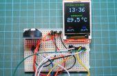 Arduino DS3231 Echtzeituhr mit Farb-TFT
