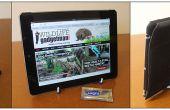 Machen ein Fab iPad/Tablet-Standfuß mit einer Platte Stand und Sugru!