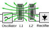 Drahtlose elektrische Energie Übertragung Schaltung