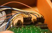 Arduino LED-Matrix mit Wii Nunchuck Kontrolle