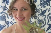 DIY-einfache Meerjungfrau Shell Krone