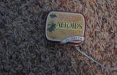 Altoids winzige Zinn iPod Shuffle Fall