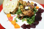 Roasted Chicken Dinner für zwei