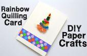 How to make Quilling Karten für Geburtstag - DIY Papier Handwerk