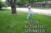 Halten Sie unerwünschte Besucher entfernt mit einer Bewegung aktiviert Sprinkler
