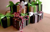 Mini Weihnachtsgeschenk Würfel