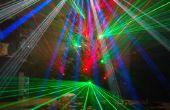 Laser-Weihnachtsbaum