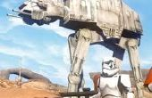 Star Wars AT-AT Walker Holzmodell