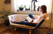 DIY Clawfoot Wanne Couch