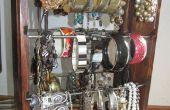Armband-Veranstalter, die Dutzende von Armbänder hält und hält sie alle sichtbar zur Auswahl!
