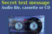Geheime Nachricht in Audio