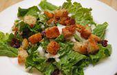 Verschönern Sie langweilige Salate mit hausgemachten Croutons