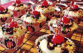 Schokolade Eisbecher Cupcakes Rezept