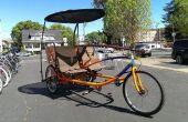Gesellig Tandem Cargo Trike