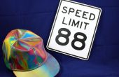 88 km/h zurück auf die zukünftige Geschwindigkeitsbegrenzungen