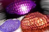 Kristall-Leuchten verwenden elektrische Lampen oder Kerzen